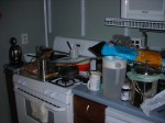 The royal mess that my kitchen was Tuesday